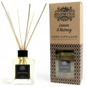 200ml Lemon & Nutmeg Essential Oil Reed Diffuser